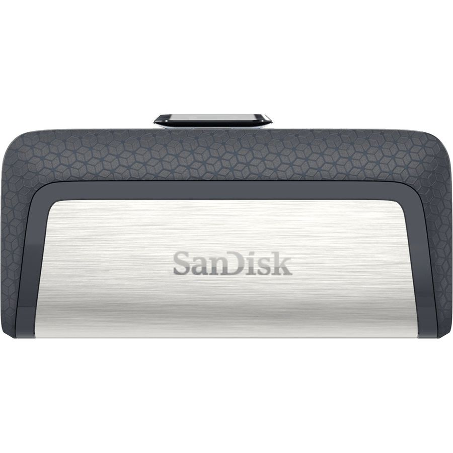 Флешка USB SANDISK Ultra Dual 64Гб, USB3.0, серый и узор [sdddc2-064g-g46]