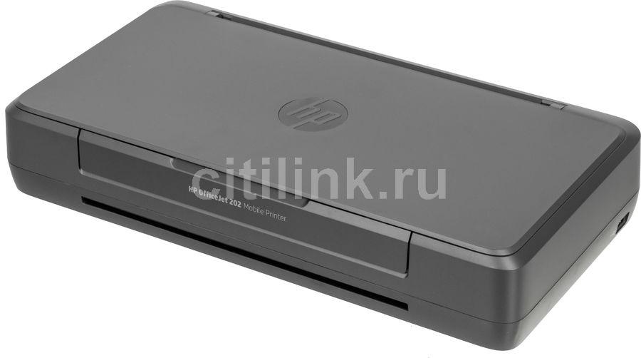 Качественный мобильный принтер - Обзор товара принтер струйный HP OfficeJet 202, черный (376430) в интернет-магазине СИТИЛИНК - Волгоград