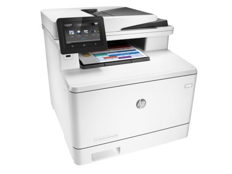 МФУ HP Color LaserJet Pro M377dw,  A4,  цветной,  лазерный,  белый [m5h23a]