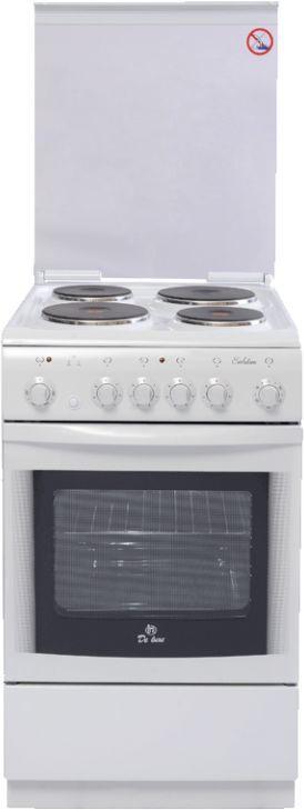 Электрическая плита DE LUXE 506004.03Э КР,  эмаль,  белый