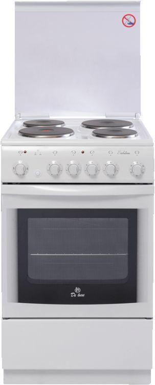 Электрическая плита DE LUXE 5004.10э КР,  эмаль,  белый