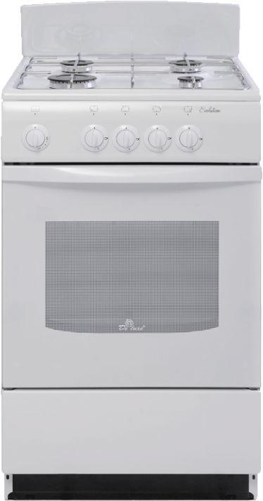 Газовая плита DE LUXE 5040.38г,  газовая духовка,  белый [5040.38г бел.]