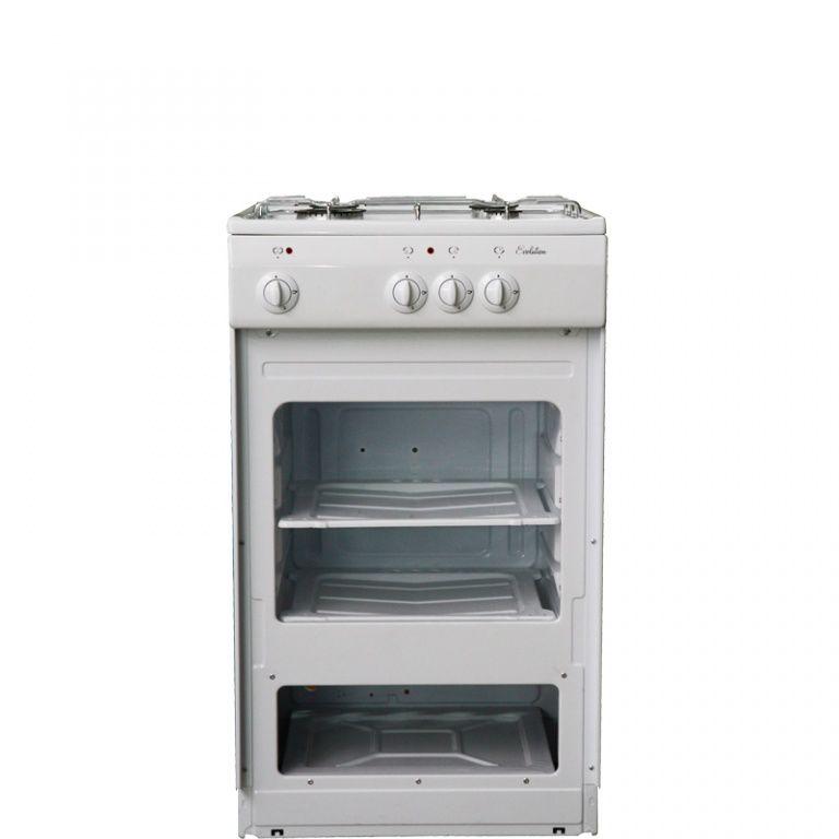 Газовая плита DE LUXE 5040.39г щ,  белый