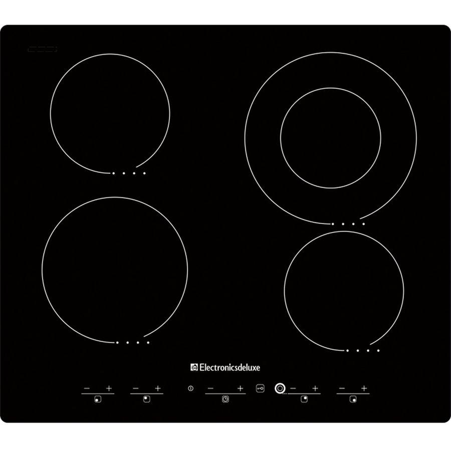 Варочная поверхность ELECTRONICSDELUXE 595204.01 эвс,  независимая,  черный