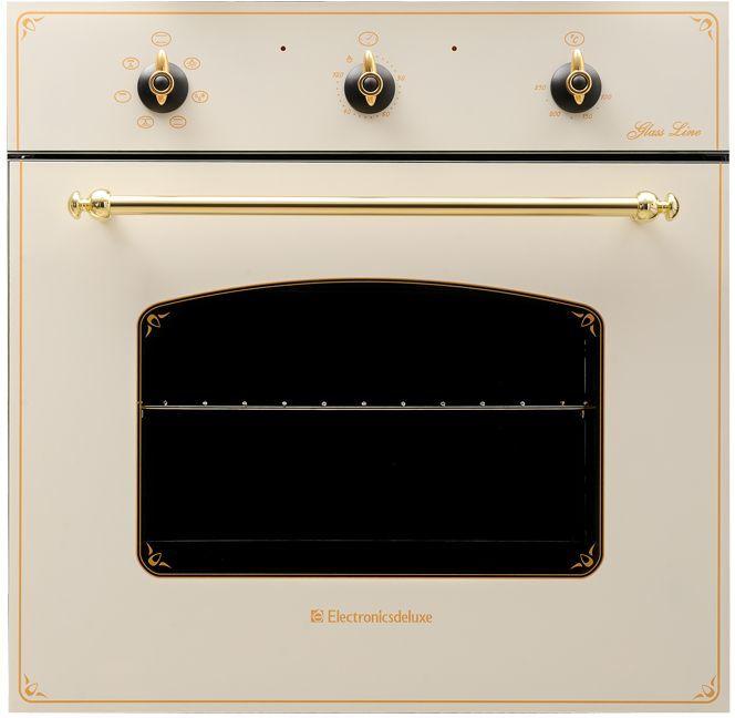 Духовой шкаф ELECTRONICSDELUXE 6006.03 эшв-001,  бежевый