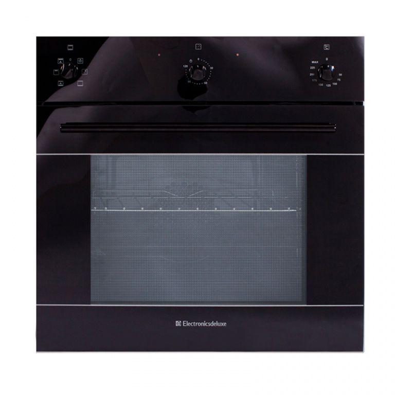 Духовой шкаф ELECTRONICSDELUXE 6006.03 эшв-003,  черный