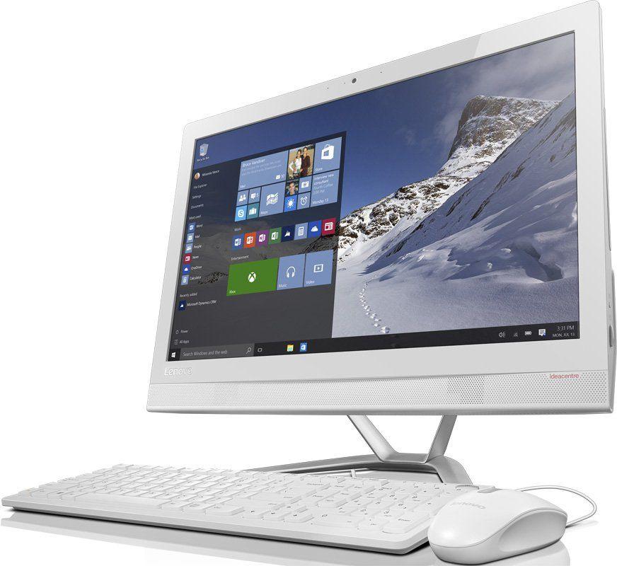 Моноблок LENOVO IdeaCentre 300-23ISU, Intel Pentium 4405U, 4Гб, 1Тб, nVIDIA GeForce GT920A - 2048 Мб, DVD-RW, Windows 10, белый и серебристый [f0by00d4rk]