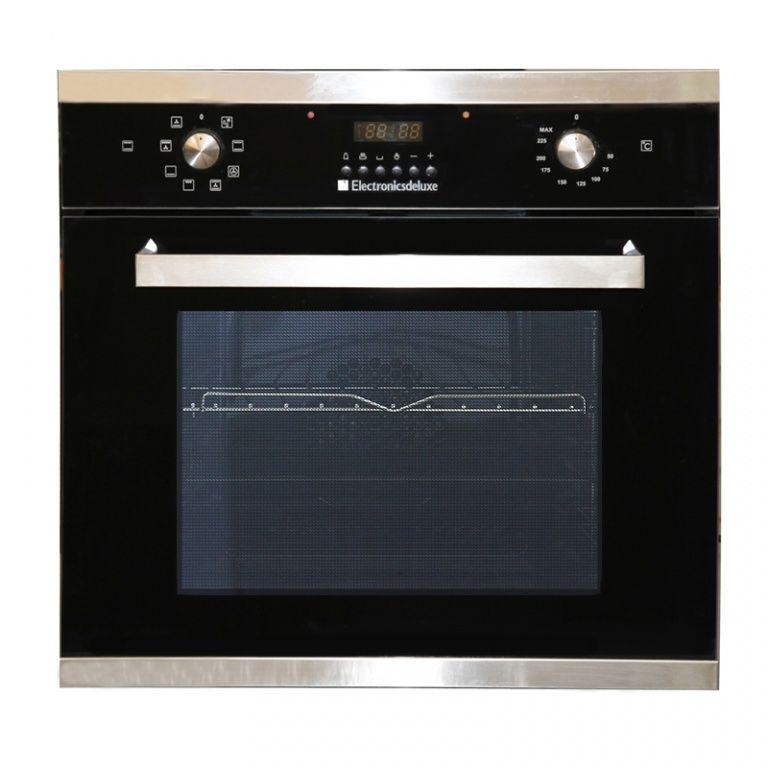Духовой шкаф ELECTRONICSDELUXE 6009.01 эшв-014,  стекло черное