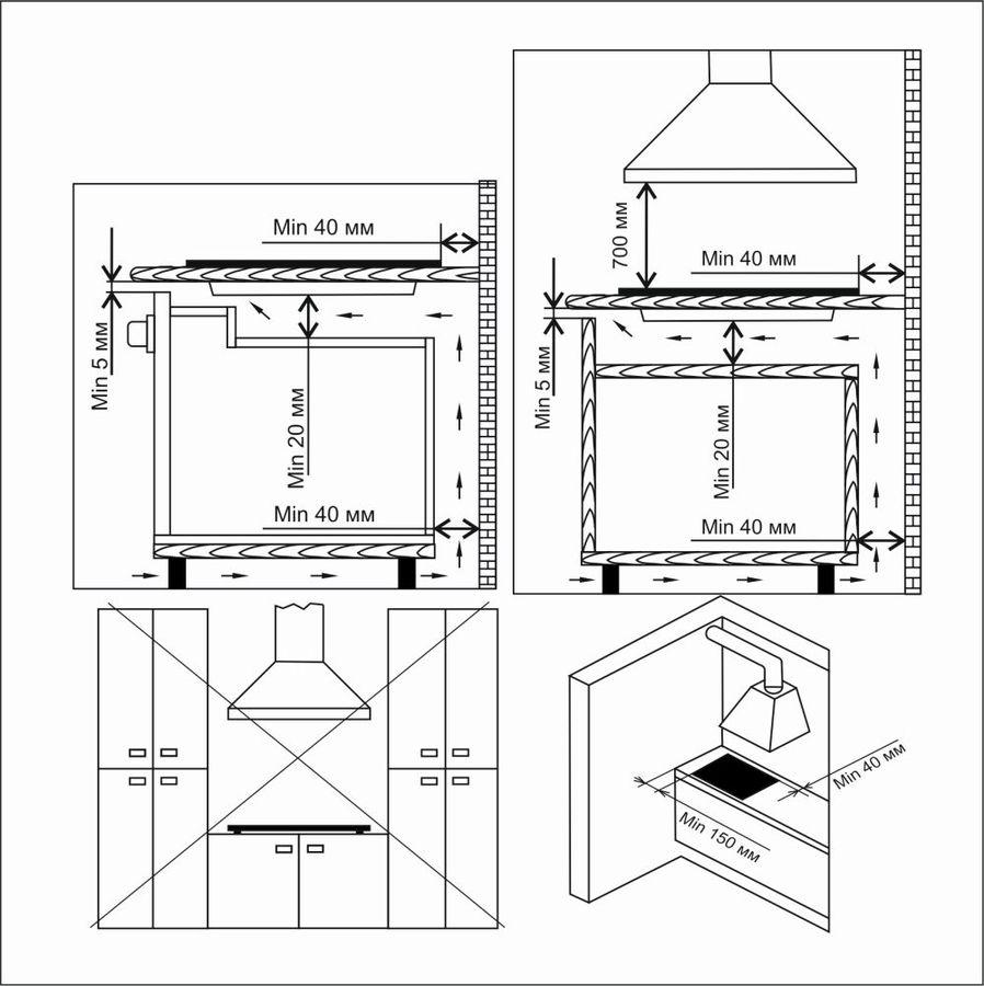 Варочная панель Electronicsdeluxe GG51130245F TC-000