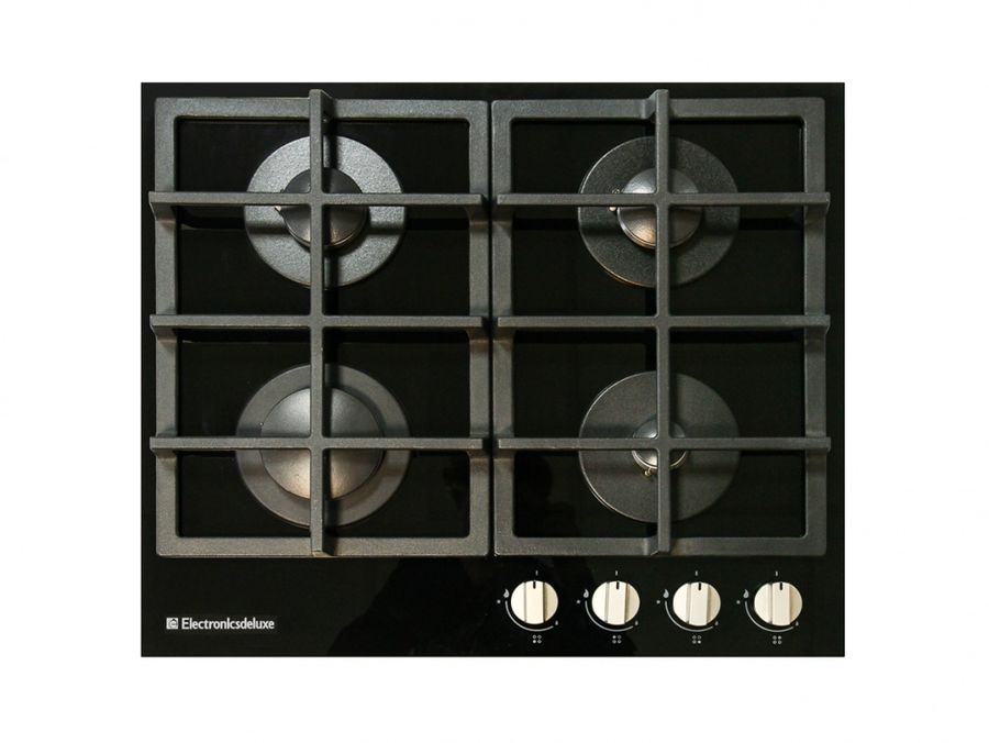 Варочная панель ELECTRONICSDELUXE GG4 750229F -012,  независимая,  стекло черное
