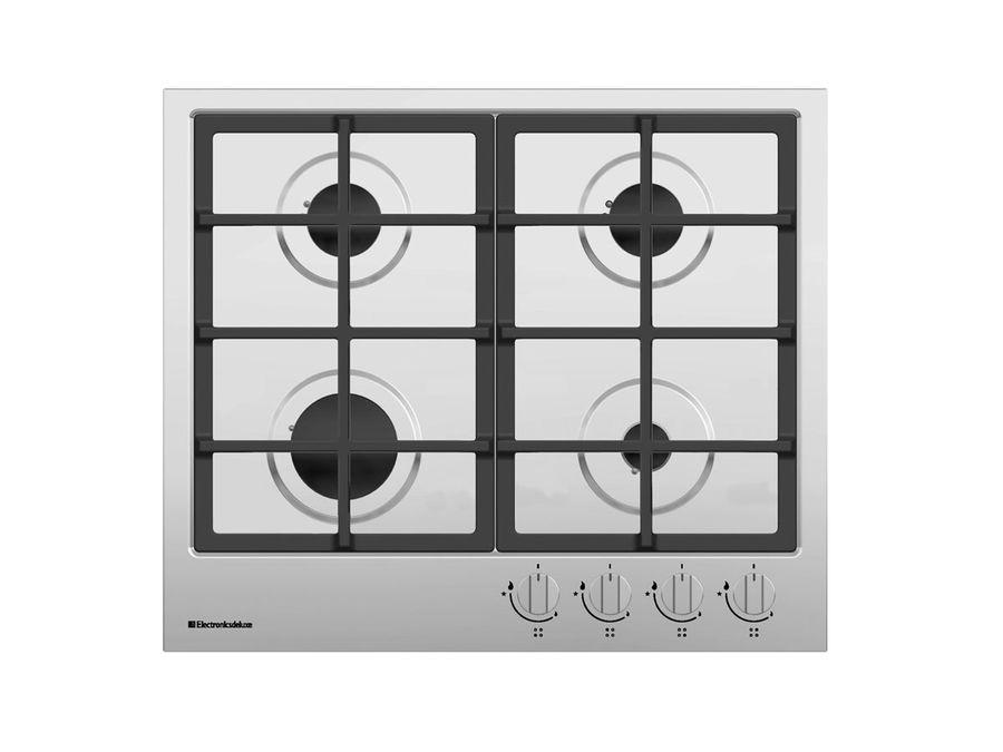 Варочная панель ELECTRONICSDELUXE TG4 750231F -021,  независимая,  нержавеющая сталь