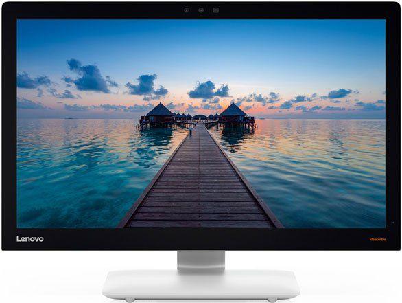 Моноблок LENOVO IdeaCentre 910-27ISH, Intel Core i5 6400T, 8Гб, 1Тб, nVIDIA GeForce GT940A - 2048 Мб, Windows 10, серебристый и черный [f0c2001srk]