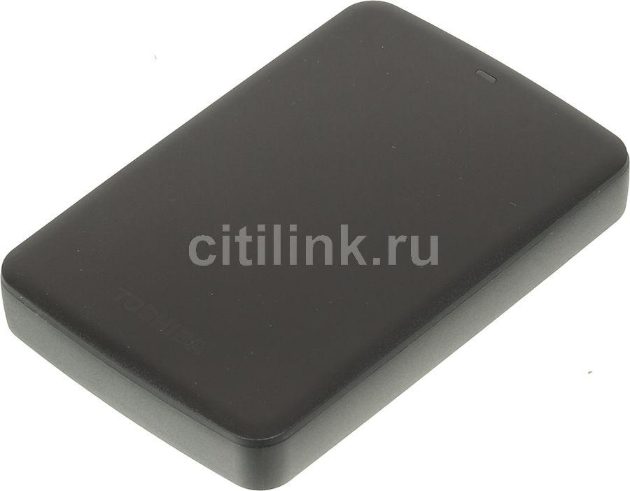 Внешний жесткий диск TOSHIBA Canvio Basics HDTB330EK3CA, 3Тб, черный