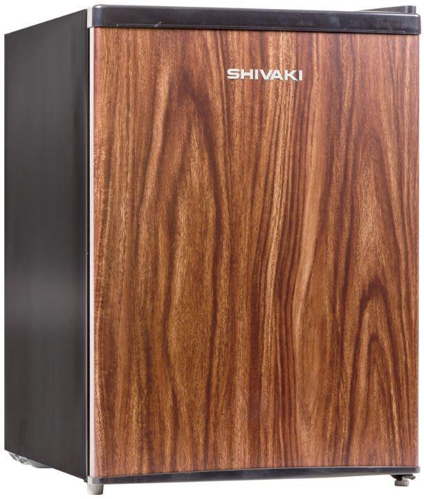 Холодильник SHIVAKI SHRF-75CHT,  однокамерный,  темное дерево