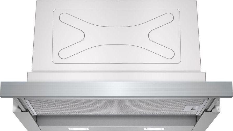 Вытяжка встраиваемая Siemens LI67SA530 серебристый управление: кнопочное (1 мотор)