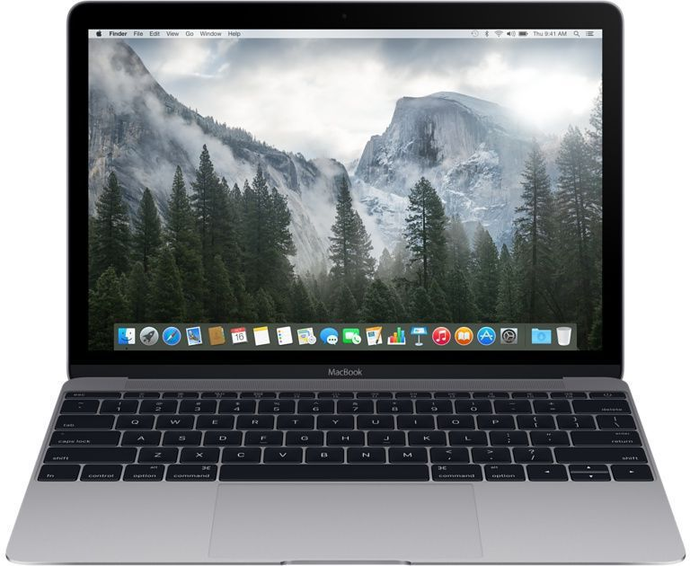 Ноутбук APPLE MacBook MLH82RU/A, 12, Intel Core M5 6Y54, 1.2ГГц, 8Гб, 512Гб SSD, Intel HD Graphics 515, Mac OS X, темно-серыйНоутбуки<br>экран: 12;  разрешение экрана: 1366х768; тип матрицы: IPS; процессор: Intel Core M5 6Y54; частота: 1.2 ГГц (2.7 ГГц, в режиме Turbo); память: 8192 Мб, LPDDR3, 1866 МГц; SSD: 512 Гб; Intel HD Graphics 515; WiFi;  Bluetooth;  WEB-камера; Mac OS X<br><br>Линейка: MacBook