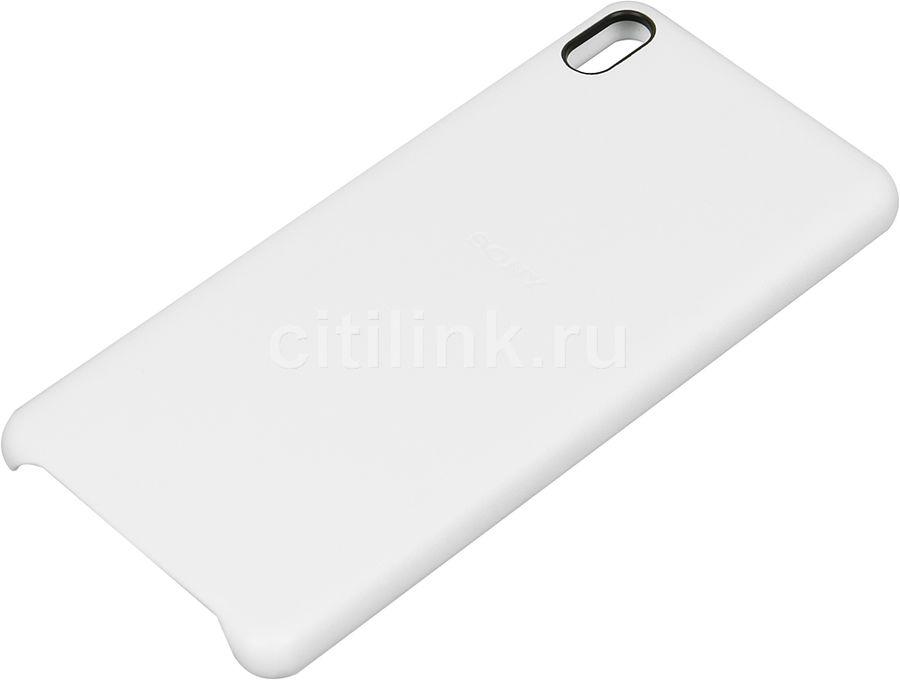 Чехол (клип-кейс) SONY Back Cover, для Sony Xperia XA, белый [sbc26 white]