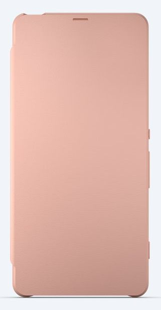 Чехол (флип-кейс) SONY Flip Cover, для Sony Xperia XA, розовое золото [scr54 rose gold]