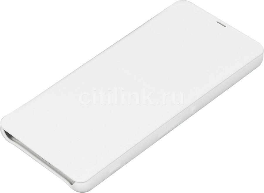 Чехол (клип-кейс) SONY Flip Cover, для Sony Xperia XA, белый [scr54 white]