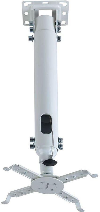 Кронштейн для проектора Kromax PROJECTOR-100 белый макс.20кг потолочный поворот и наклон [20196]