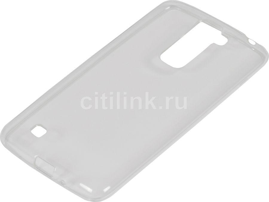 Чехол (клип-кейс) REDLINE iBox Crystal, для LG K7, прозрачный [ут000008396]