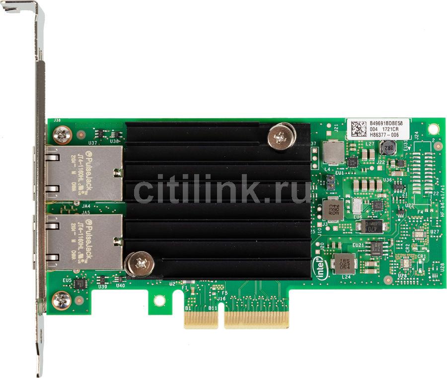 Сетевая карта Intel Original X550T2BLK 2xRG45 10Gb/s PCI-E 3.0x8 Low Profile (X550T2BLK 940136)
