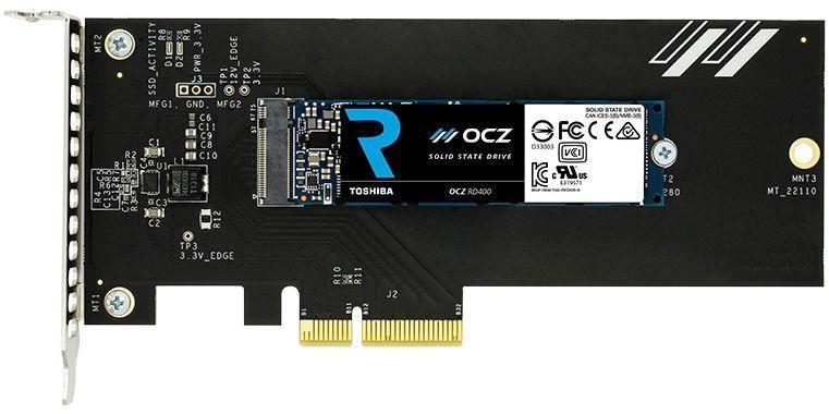 Накопитель SSD OCZ Toshiba RVD400-M22280-128G-A 128Гб, PCI-E AIC (add-in-card), PCI-E x4