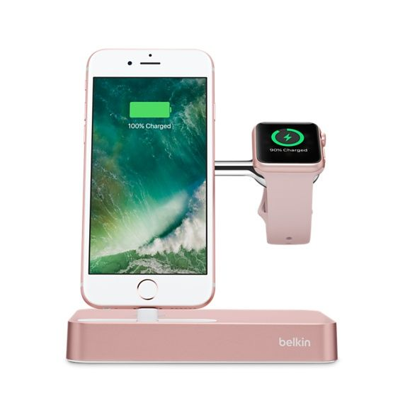 Док-станция BELKIN F8J183VFC00-APL, Apple Watch Series 1, Series 2, Edition, Nike+, Hermes, iPhoneЗарядные устройства<br><br>