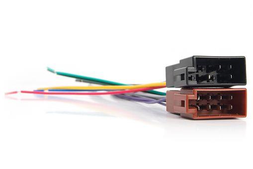 Адаптер ISO Rolsen RCR-ISO-F черный/коричневый (1-RLCA-RCR-ISO-F)
