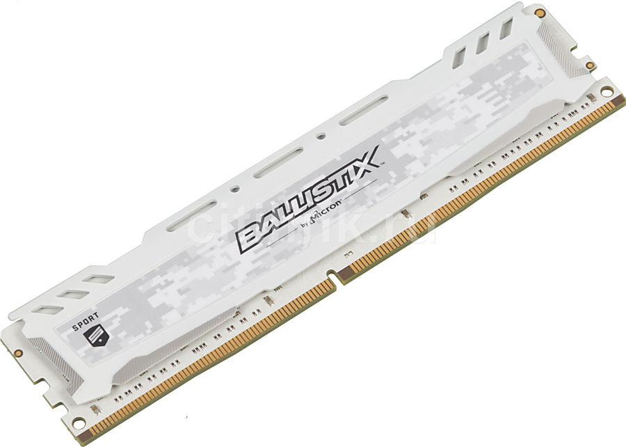 Модуль памяти CRUCIAL Ballistix Sport BLS16G4D240FSC DDR4 -  16Гб 2400, DIMM,  Ret