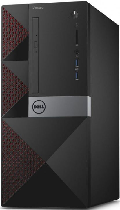 Компьютер  DELL Vostro 3650,  Intel  Core i3  6100,  DDR3L 4Гб, 500Гб,  Intel HD Graphics 530,  DVD-RW,  CR,  Windows 7 Professional,  черный [3650-0281]