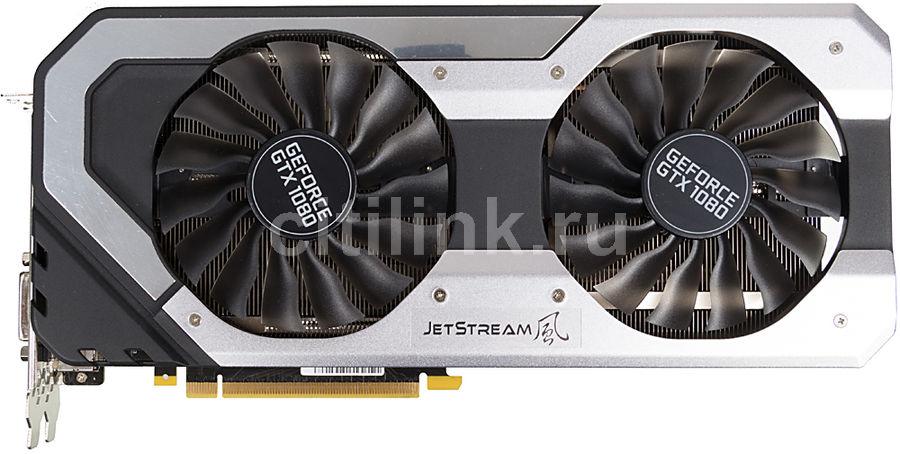 Видеокарта PALIT nVidia  GeForce GTX 1080 ,  PA-GTX1080 Jetstream 8G,  8Гб, GDDR5X, Ret [neb1080015p2-1040j]