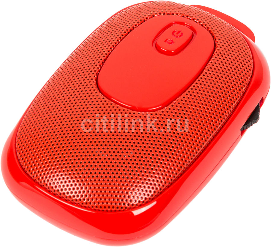 Портативные колонки GINZZU GM-985C,  красный [gm-997b]