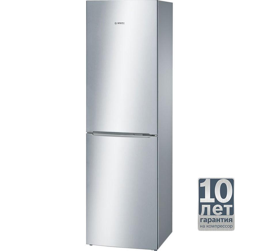Холодильник BOSCH KGN39NL13R,  двухкамерный,  нержавеющая сталь