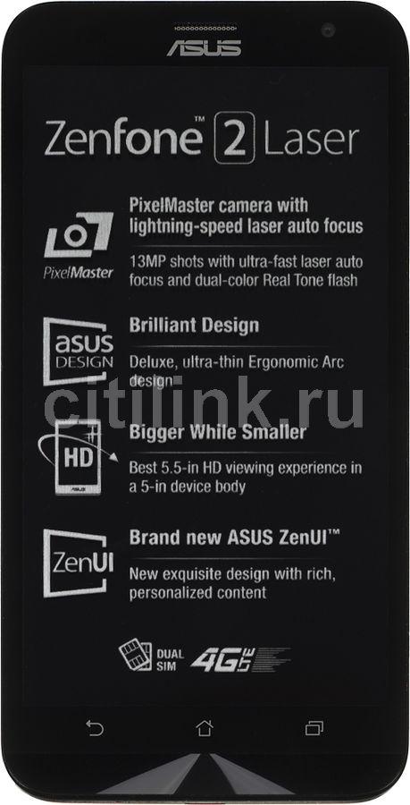 Смартфон ASUS ZenFone 2 Laser ZE550KL  32Gb, красный
