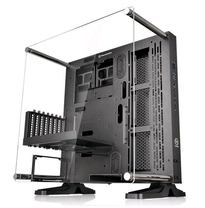 Корпус ATX THERMALTAKE Core P3, Midi-Tower, без БП,  черный