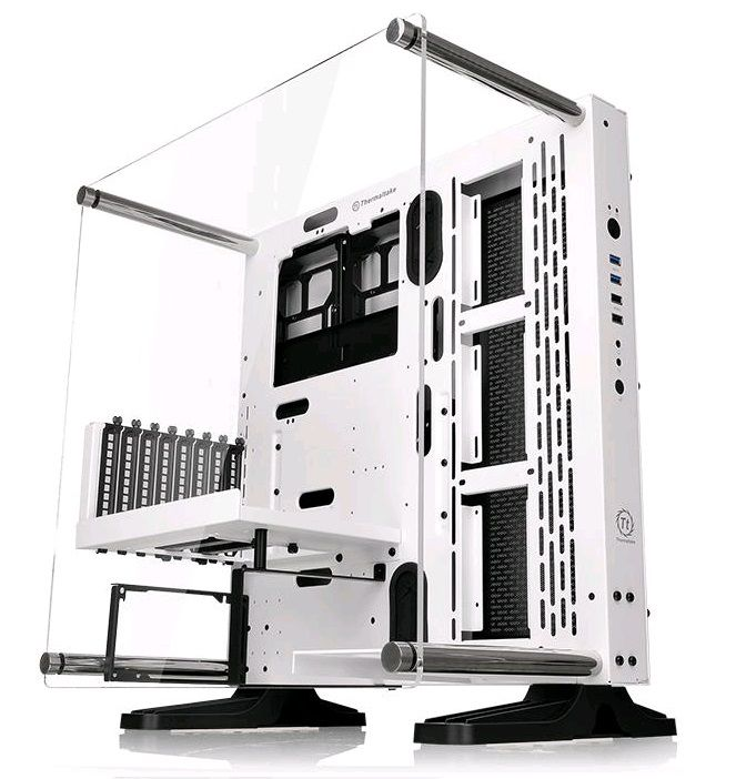 Корпус ATX THERMALTAKE Core P3, Midi-Tower, без БП,  белый