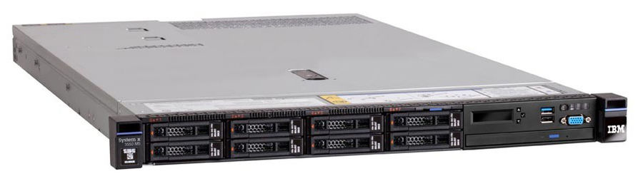 Сервер Lenovo System X x3550 M5 1xE5-2640v4 1x16Gb x4 2.5 SAS/SATA M5210 1x750W O/Bay (8869ELG)Серверы<br>Hot Swap HDD, Hot Swap AC<br><br>Линейка: System X