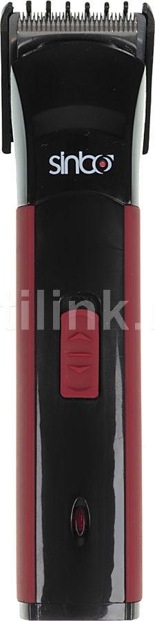 Триммер SINBO SHC 4365,  черный/красный