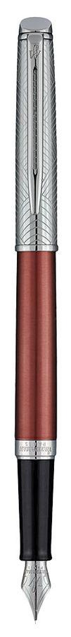 Ручка перьевая Waterman Hemisphere Deluxe Privee (1971673) Cuivre CT F сталь нержавеющая подар.кор.
