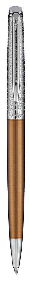 Ручка шариковая Waterman Hemisphere Deluxe Privee (1971620) Bronze CT M синие чернила подар.кор.