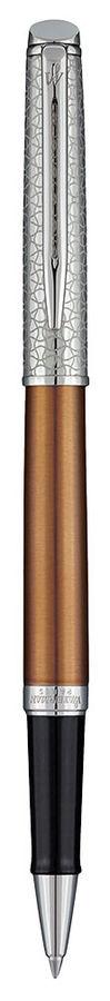Ручка роллер Waterman Hemisphere Deluxe Privee (1971671) Bronze CT F черные чернила подар.кор.