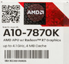 Процессор AMD A10 7870K, SocketFM2+ BOX [ad787kxdjcsbx] вид 8