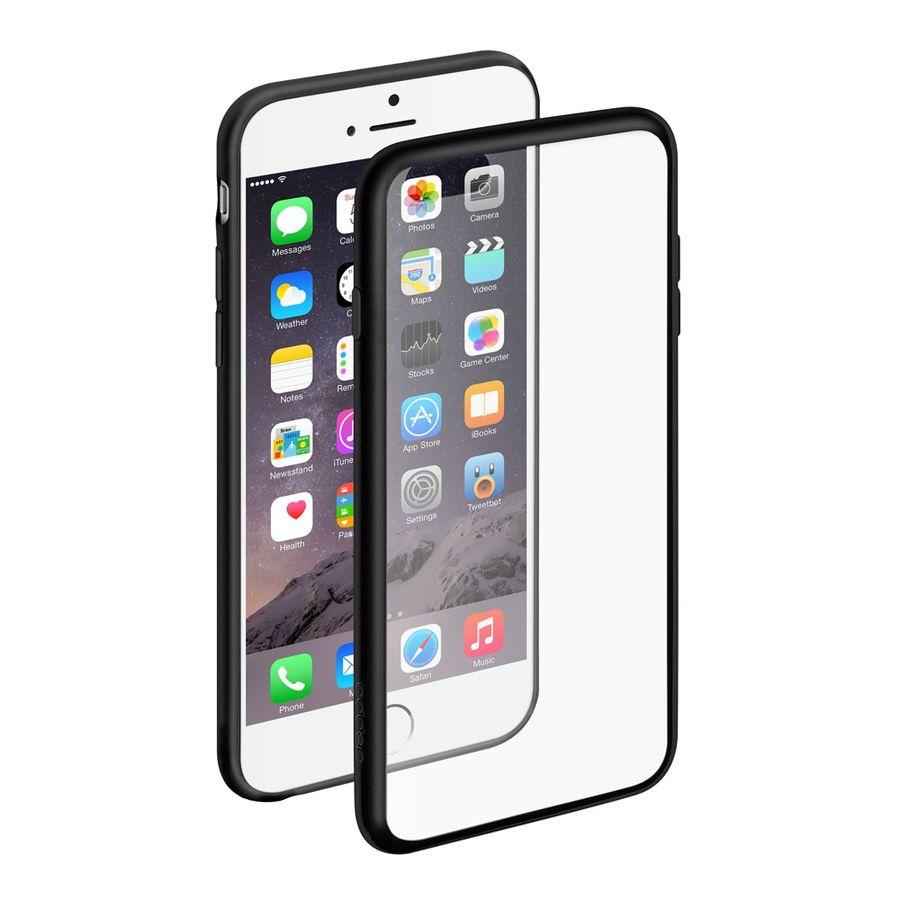 Чехол (клип-кейс) DEPPA Neo Case, для Apple iPhone 6 Plus/6S Plus, черный [85219]