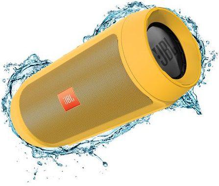 Портативные колонки JBL Charge 2 Plus,  желтый [charge2plusyeleu]