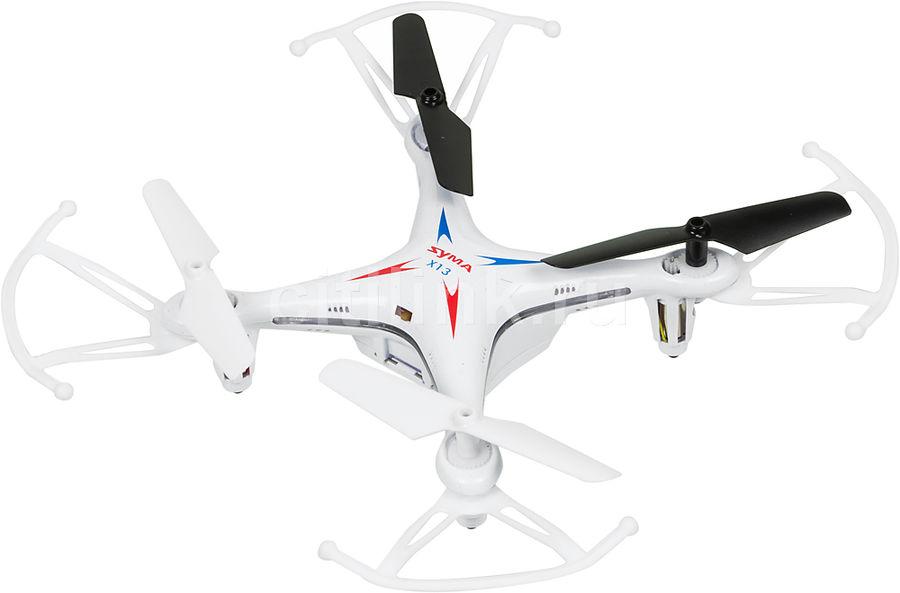 Квадрокоптер SYMA X13 без камеры,  белый [x13 white]