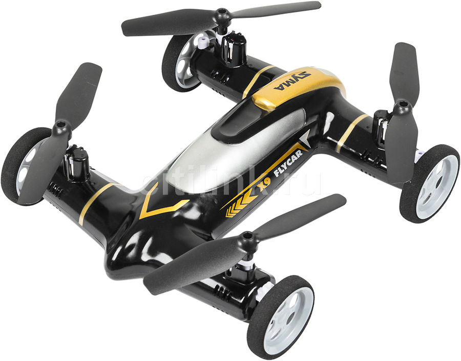 Квадрокоптер SYMA X9 без камеры,  черный [x9 black]
