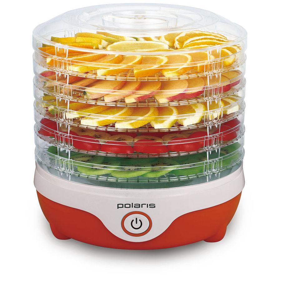 Сушка POLARIS PFD 1505 для фруктов и овощей,  оранжевый