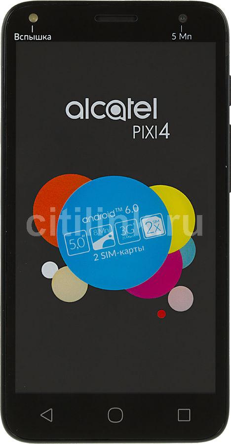 Смартфон ALCATEL Pixi 4 5010D  черный