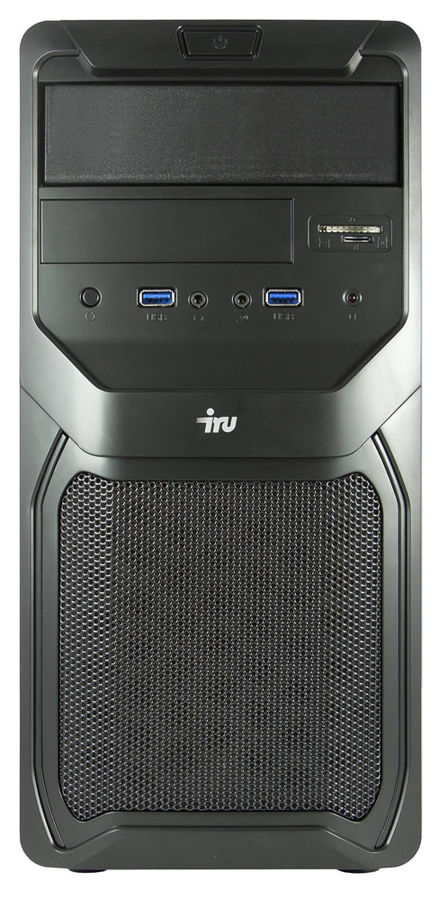 Компьютер  IRU Office 311,  Intel  Core i3  4170,  DDR3 4Гб, 1Тб,  Intel HD Graphics 4400,  CR,  Windows 7 Professional,  черный  + MSO H&B 2013 [379446]